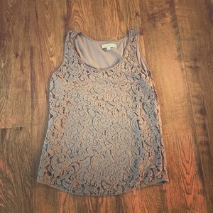 Excellent used condition lace Ann Taylor loft tank